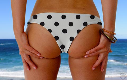 Cheeky Brazilian Dalmatian Dots Marleez Bikinis