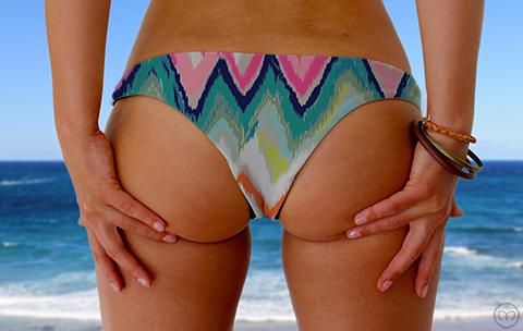 Cheeky Brazilian Crazy Zebra Marleez Bikinis