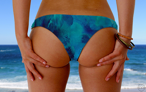 Cheeky Brazilian Deep Sea Marleez Bikinis