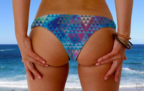 Cheeky Brazilian Little Tri Marleez Bikinis