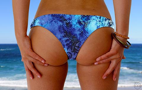 Cheeky Brazilian Watercolor Lace Marleez Bikinis