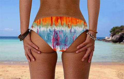 Scrunchy Hawaiian Batika Marleez Bikinis