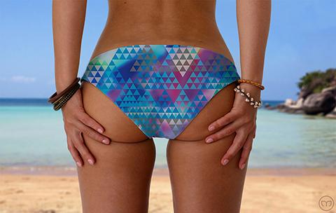 Srunchy Hawaiian Little Tri Marleez Bikinis