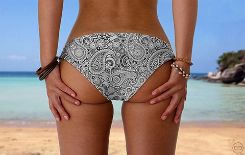 Scrunchy Hawaiian Oriental Dreams Marleez Bikinis