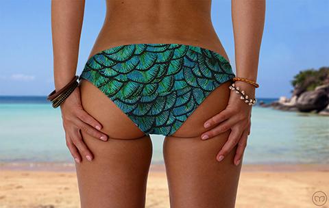 Srunchy Hawaiian Mother of Dragons Marleez Bikinis