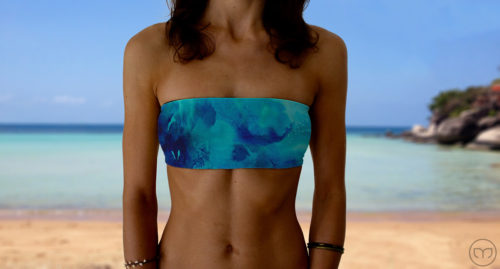 Graceful Bandeau Deep Sea