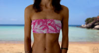 Graceful Bandeau Pink Flowers